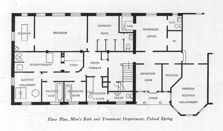Day Spa Floor Plans