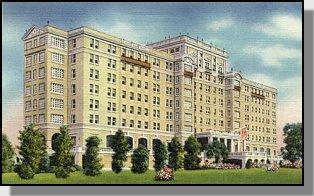 The Forrest Hill Ricker Hotel Augusta Georgia Postcard