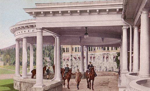 Porte Cochere