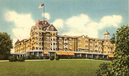 Samoset Hotel Rockland Maine Postcard